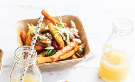 Dirty_vegetable_fries_Thai_teriyaki